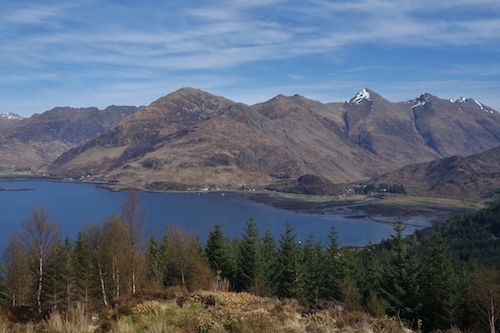 Five Sisters of Kintail, Scottish Highlands