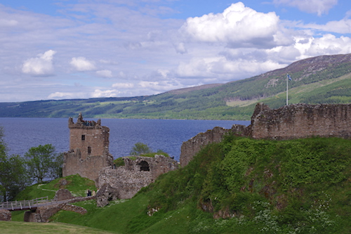 Urquhart Castle and Loch Ness, Scottish Highlands