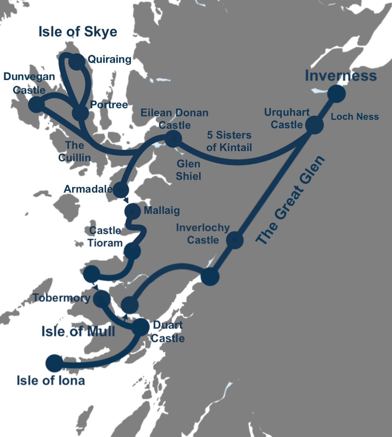 5 Day Isle of Skye, Mull and Iona Tour